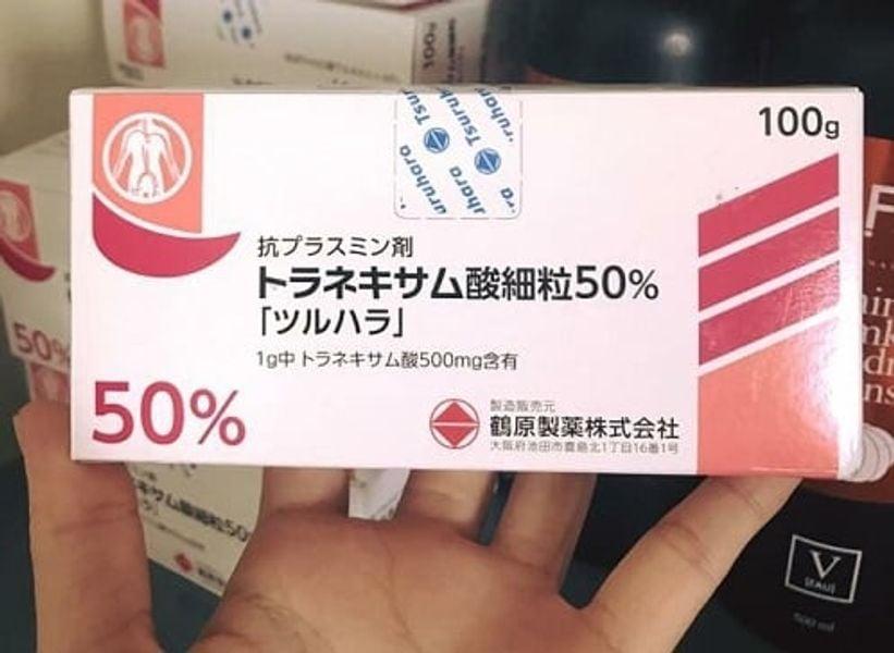 Bột Uống Trắng Da Trị Nám 50% Tsuruhara Nhật Bản