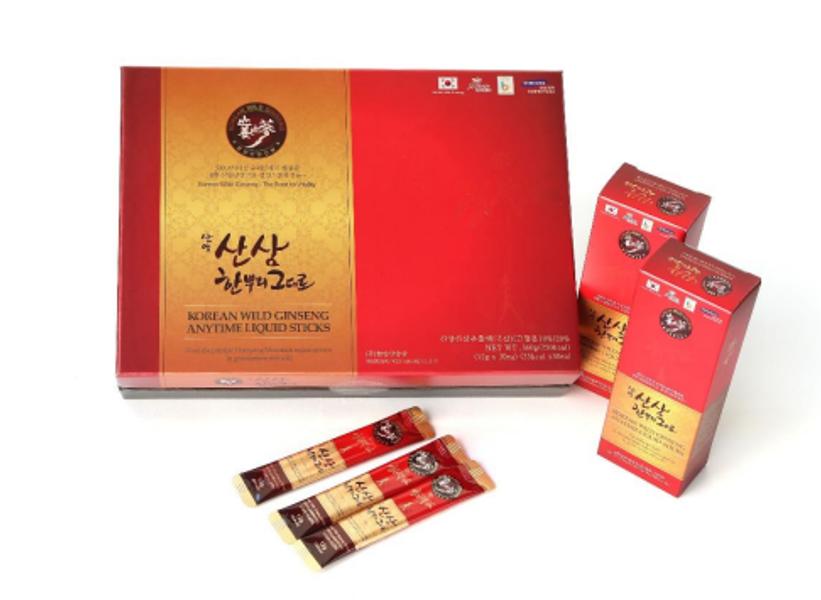 Korea Wild Ginseng Anytime Liquid - Tinh Chất Sâm Núi Tự Nhiên