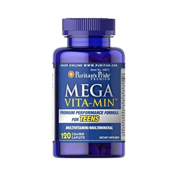 Mega Vitamin Multivitamins For Teens Puritan's Pride Hộp 120 Viên