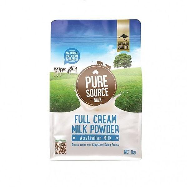 Sữa Bột Nguyên Kem Pure Source Milk 1kg