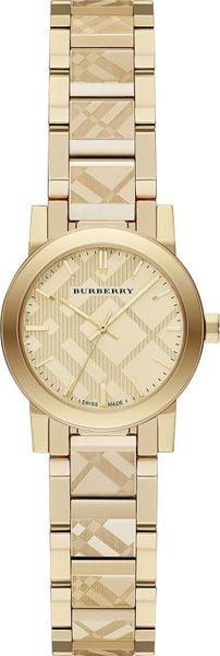 Đồng Hồ Burberry Nữ BU9234 Gold Tone, Case 26mm