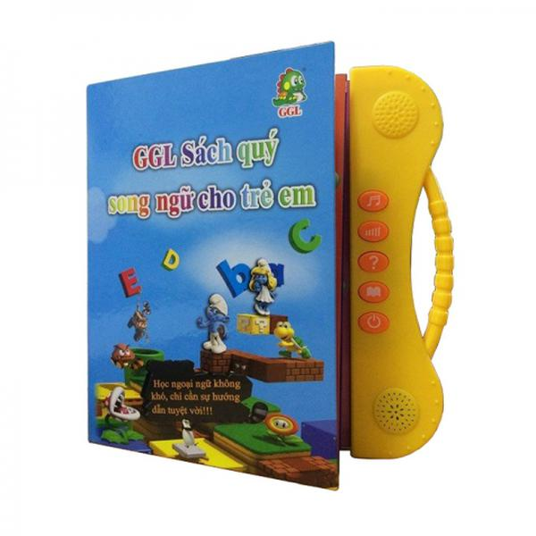 Sách Điện Tử Song Ngữ Anh Việt Cho Trẻ Từ 2 - 7 Tuổi