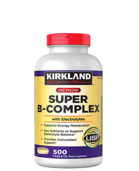 Vitamin B Tổng Hợp Super B-Complex Kirkland 500 Viên