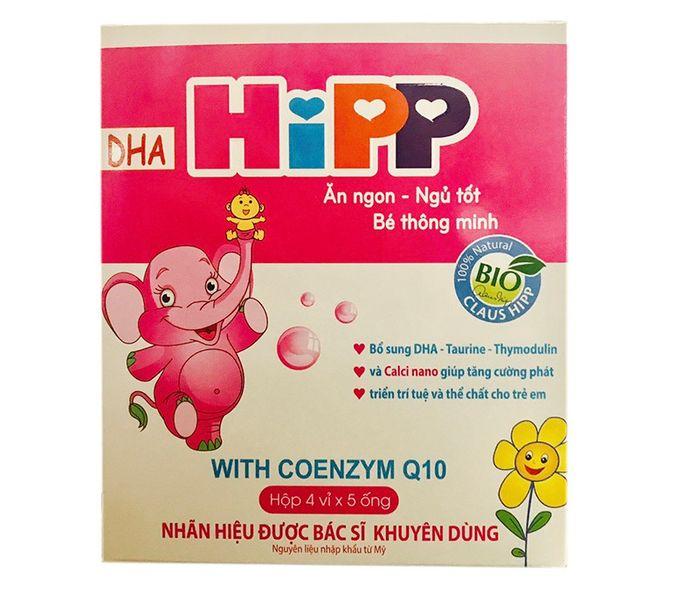 Siro Hipp - Ăn Ngon Ngủ Tốt Bé Thông Minh