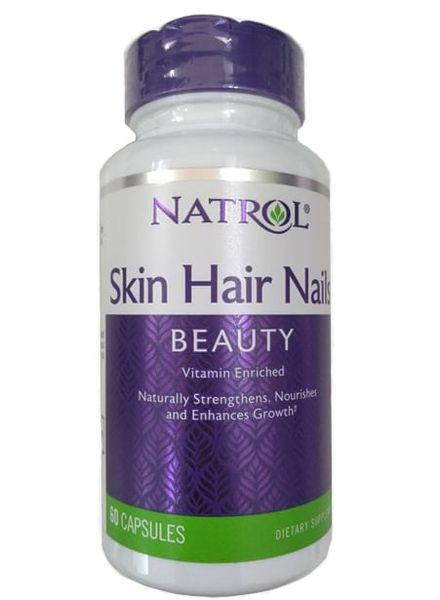 Natrol Skin Hair & Nails – Viên Uống Đẹp Da, Tóc, Móng