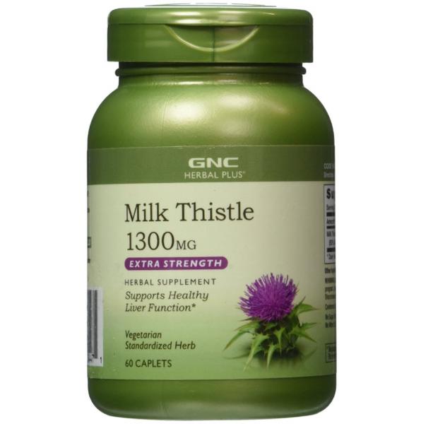 Viên Uống GNC Milk Thistle 1300mg