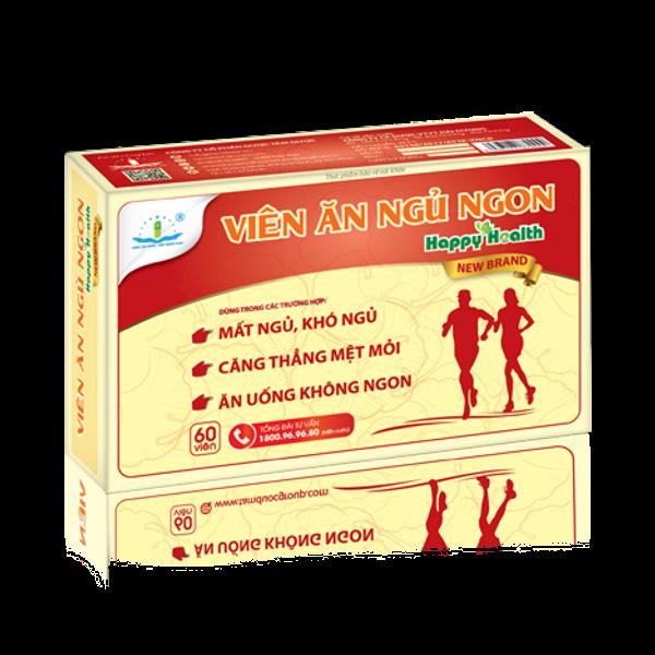 Viên Ăn Ngủ Ngon Happy Health New Brand Hộp 60 Viên