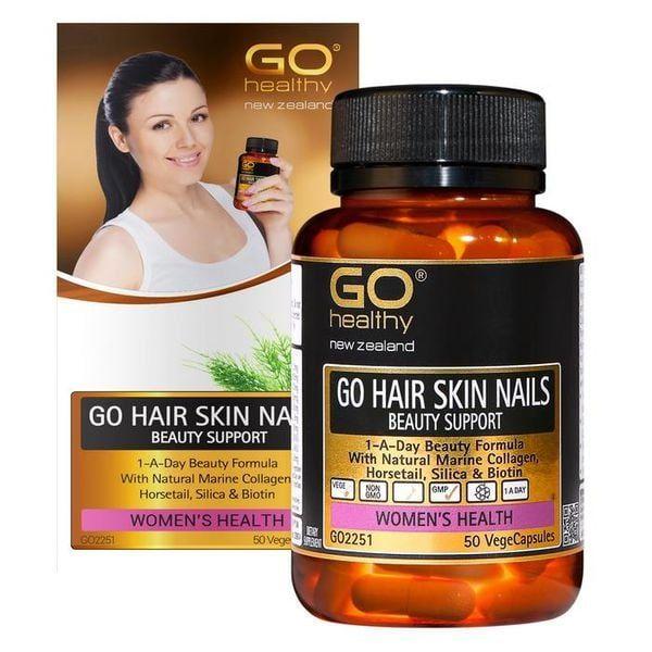 Viên Uống Hỗ Trợ Mọc Tóc Go Hair Skin Nails Beauty Support
