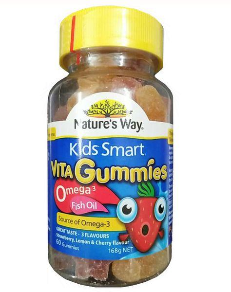 Kẹo Kids Smart Omega 3 Fish Oil Nature's Way 60 Viên