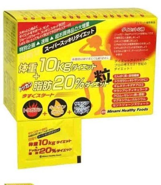 Viên Hỗ Trợ Giảm Cân 10kg Minami Healthy Foods Của Nhật