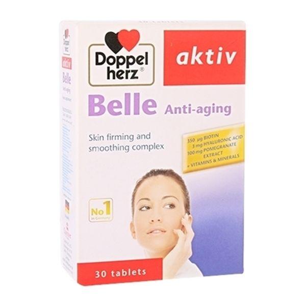 Viên Uống Doppelherz Belle Anti-aging Nuôi Dưỡng Da Từ Bên Trong