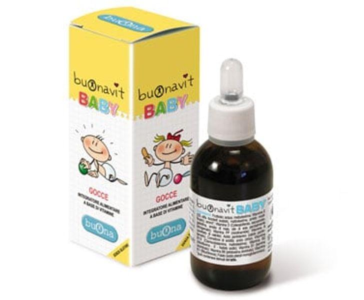 Vitamin Tổng Hợp Nhỏ Giọt Buonavit Baby Nhập Khẩu Ý