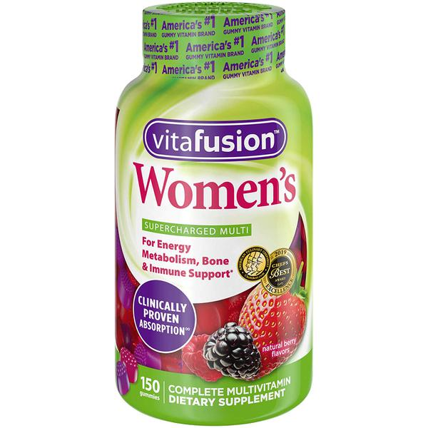 Kẹo Dẻo Bổ Sung Vitamin Vitafusion Women's Complete Multivitamin