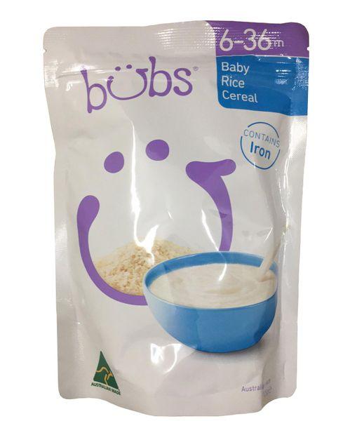 Bột Ăn Dặm Bubs Organic Baby Cho Bé 6 - 36 Tháng