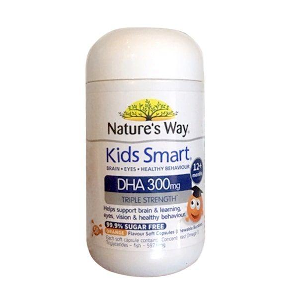 Kẹo Bổ Sung DHA Cho Bé Nature's Way Kids Smart DHA