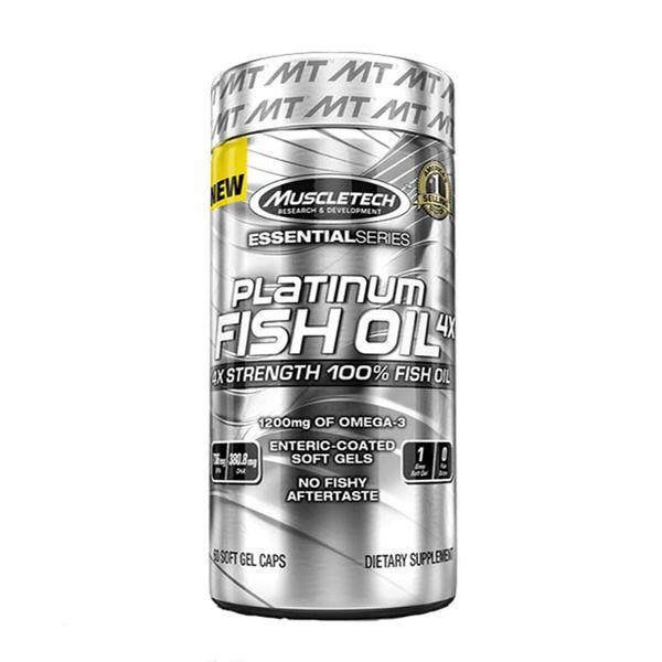 Viên Uống Dầu Cá Platinum 100% Omega Fish Oil
