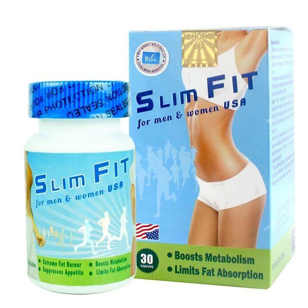 Viên Uống Hỗ Trợ Giảm Cân Slimfit For Men & Women USA