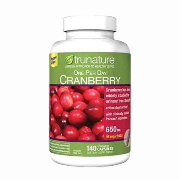 Viên Uống Hỗ Trợ Đường Tiết Niệu Trunature Cranberry Của Mỹ