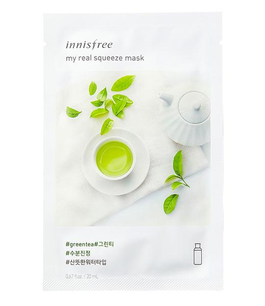 Combo 10 Miếng Mặt Nạ Innisfree My Real Squeeze Mask