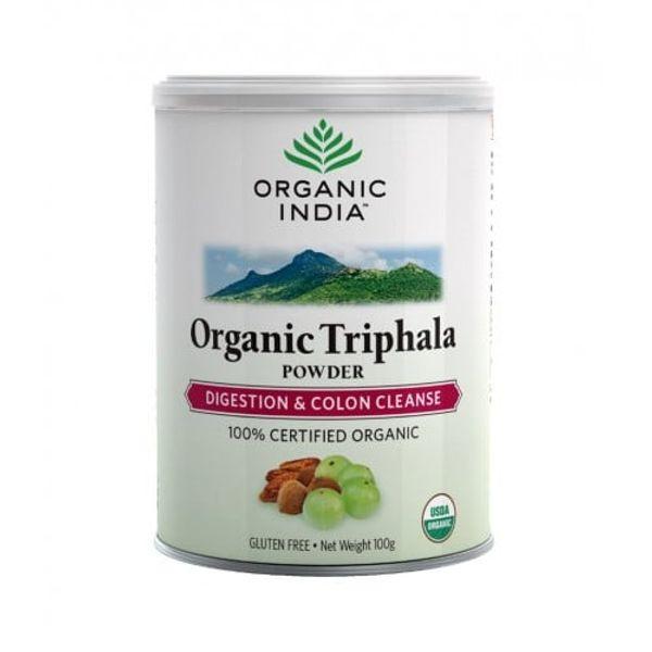 Bột Triphala Organic India Hỗ Trợ Thanh Lọc Hệ Tiêu Hóa