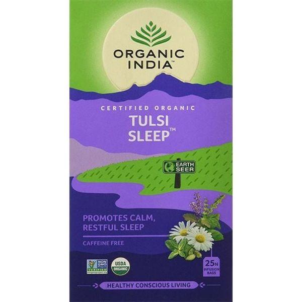 Trà Tulsi Sleep Organic India Hỗ Trợ Cải Thiện Mất Ngủ