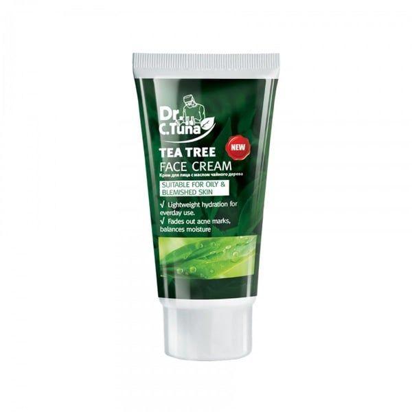 Kem Dưỡng Dr. C.Tuna Tea Tree Face Cream Dưỡng Ẩm Mờ Thâm