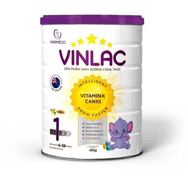 Sữa Vinlac 1 Hỗ Trợ Tăng Cân Và Chiều Cao Cho Bé 6-36 Tháng