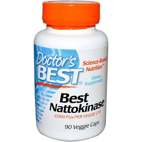 Viên Uống Doctor's Best Nattokinase Chính Hãng Của Mỹ