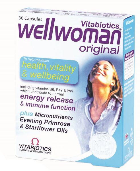 Vitamin Tổng Hợp Vitabiotics Wellwoman Original Cho Nữ
