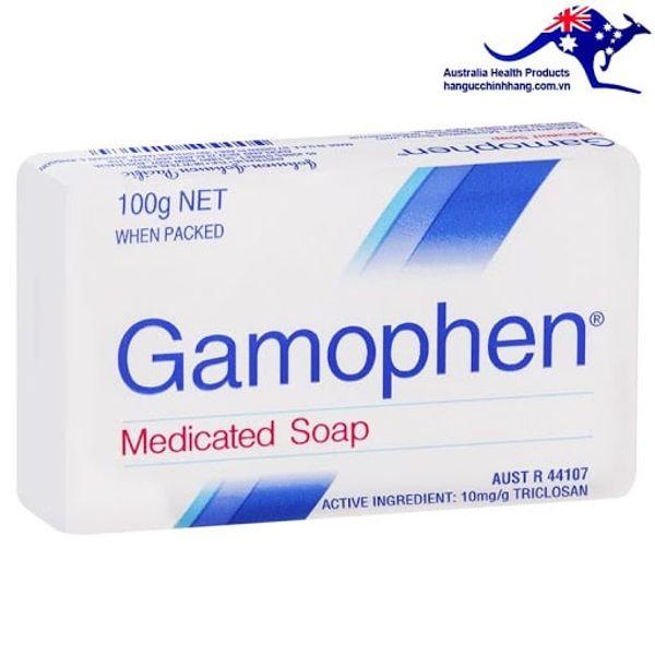 Xà Phòng Gamophen Medicated Soap Trị Mụn, Kháng Khuẩn