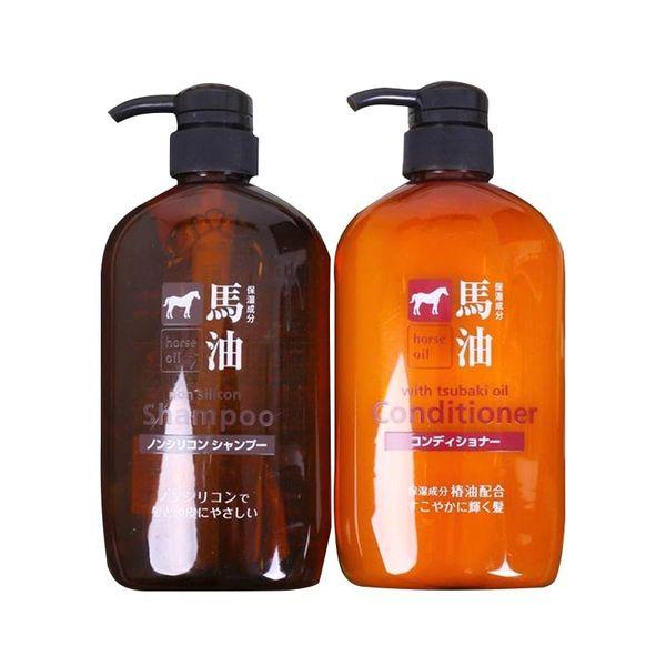 Dầu Gội Xả Mỡ Ngựa Horse Oil Nhật Bản