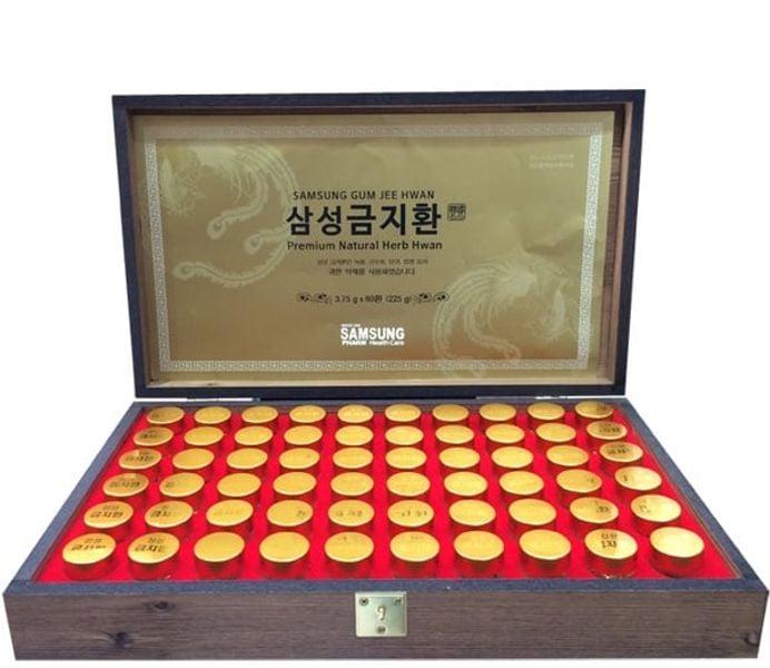An Cung Ngưu Hoàng Hoàn Hàn Quốc Hộp Gỗ