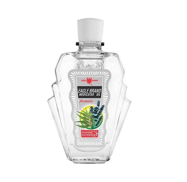 Dầu Gió Trắng Con Ó Eagle Brand Medicated Oil Lavender