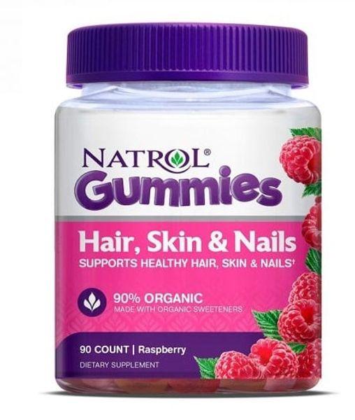 Kẹo Dẻo Natrol Gummies Hair Skin Nails Đẹp Da Móng Tóc