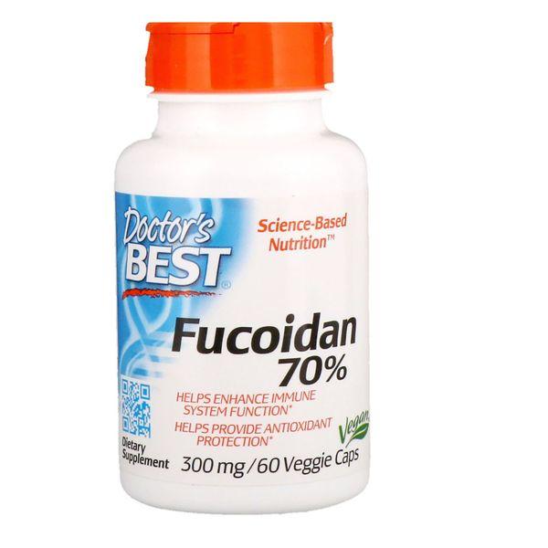 Viên Uống Best Fucoidan 70% 300mg Của Mỹ