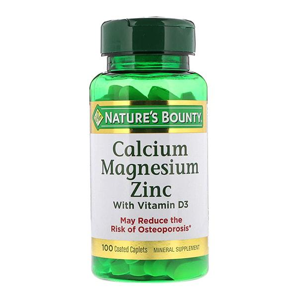 Viên Uống Nature's Bounty Calcium Magnesium Zinc With D3