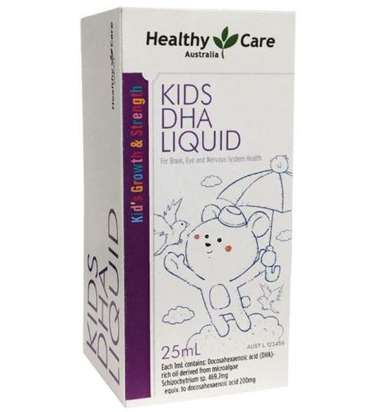 DHA Healthy Care Kids DHA Liquid Dạng Nước Của Úc