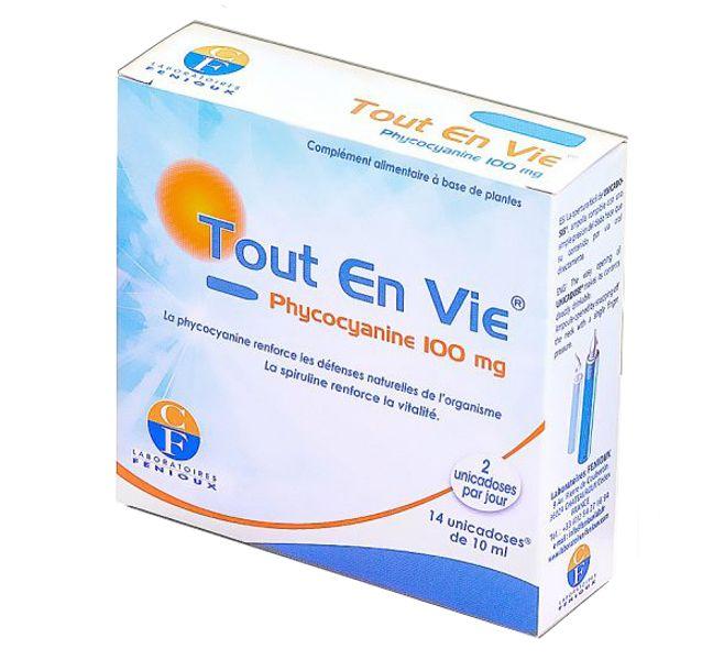 Tảo Xoắn Tout En Vie Dạng Nước Tích Hợp Vitamin C Của Pháp