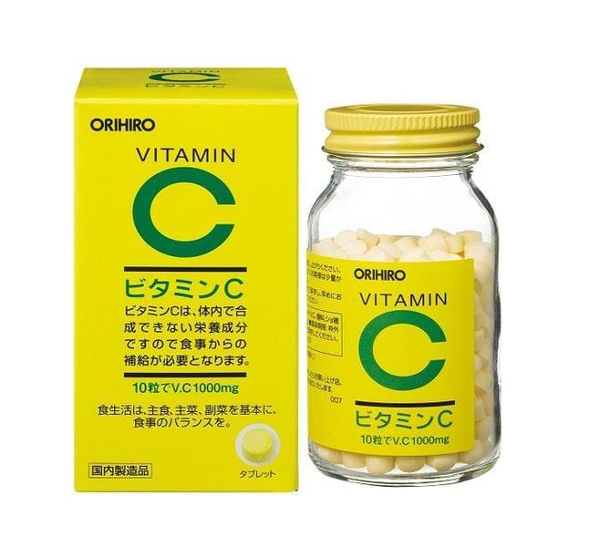 Viên Uống Vitamin C Orihiro 1000mg Của Nhật Bản