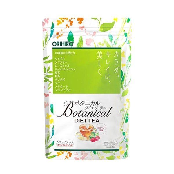 Trà Detox Hỗ Trợ Giảm Cân Botanical Diet Tea Orihiro