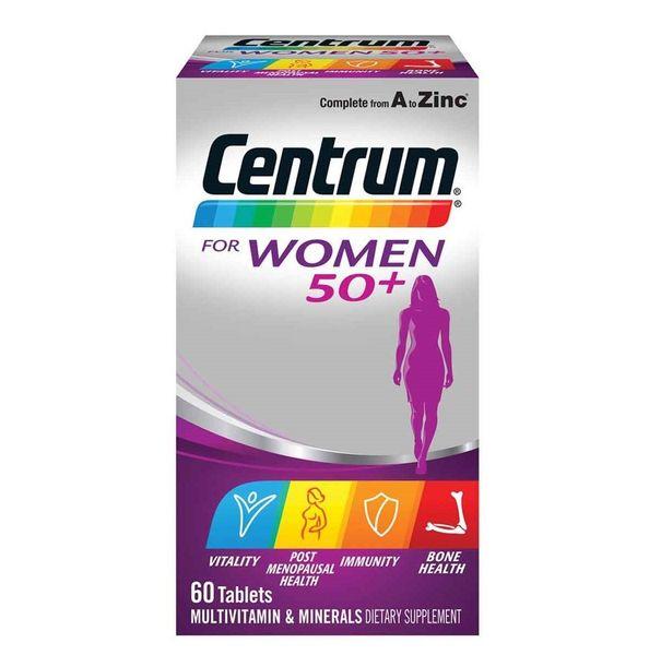 Vitamin Tổng Hợp Cho Nữ Trên 50 Tuổi Centrum For Women 50+