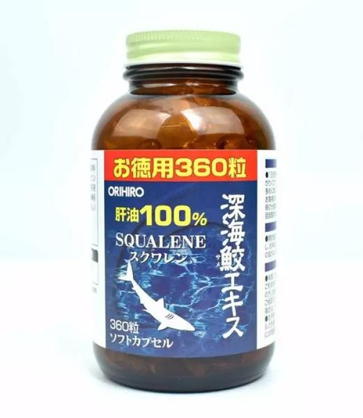 Sụn Vi Cá Mập Squalene Orihiro Nhật Bản