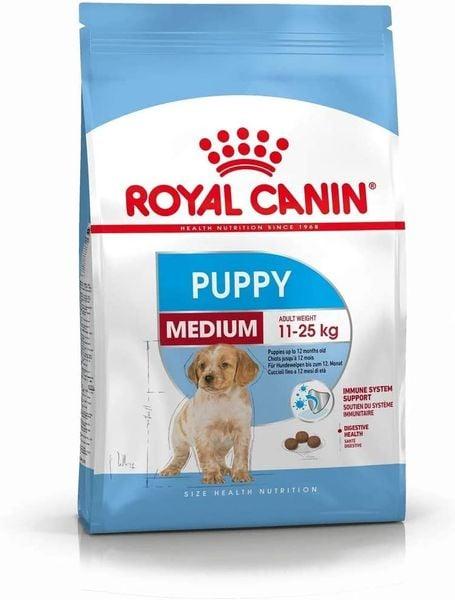 Thức Ăn Hạt Royal Canin Medium Puppy Cho Chó 2-12 Tháng Tuổi