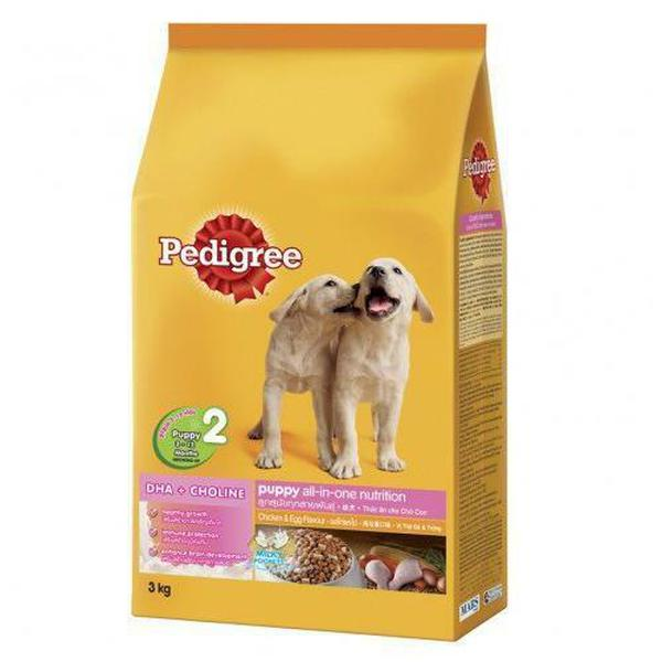 Thức Ăn Pedigree Vị Gà Và Trứng Cho Chó Con 3-18 Tháng