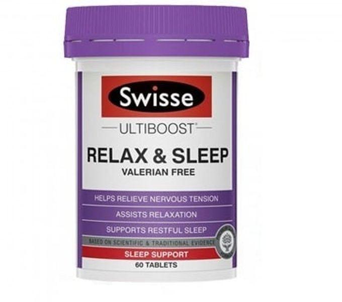 Viên Uống Hỗ Trợ Giấc Ngủ Swisse Relax & Sleep
