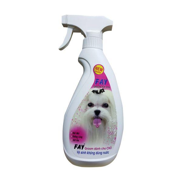 Xịt Khử Mùi Cao Cấp Cho Chó Fay Groom For Dog