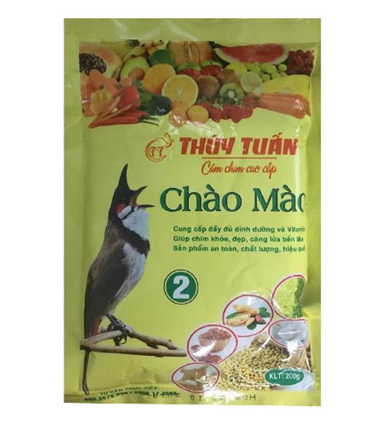 Thức Ăn Cho Chim Chào Mào Thúy Tuấn