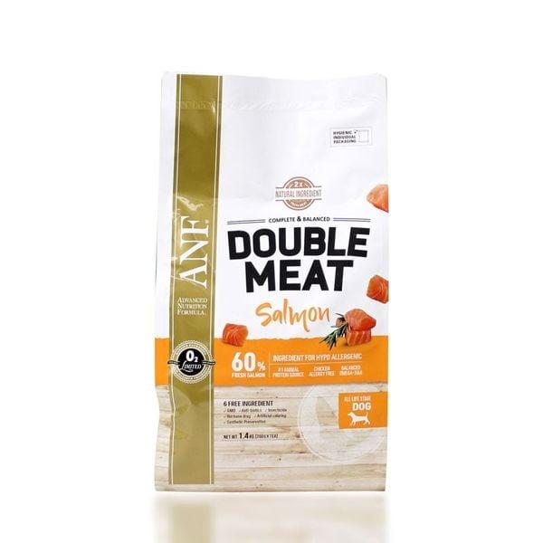 Thức Ăn Hạt Cho Chó Gấp Đôi Thịt Tươi ANF Double Meat Vị Cá Hồi