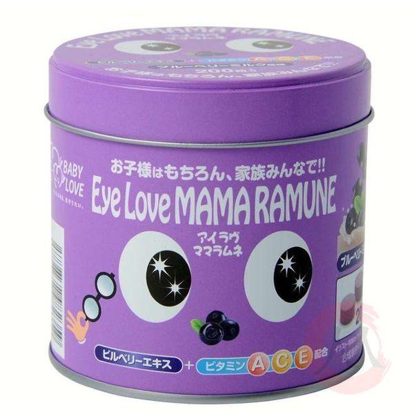 Kẹo Hỗ Trợ Mắt Eye Love Mama Ramune Cho Trẻ Từ 2 Tuổi Của Nhật