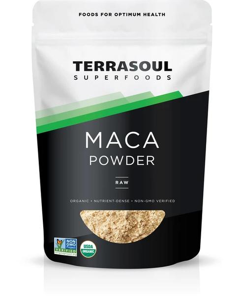 Bột Nhân Sâm Hữu Cơ Maca Powder - Terrasoul Superfoods